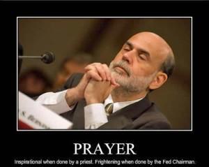 Bernanke prayer