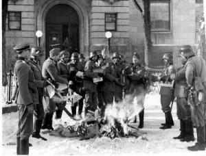 Nazi bookburning