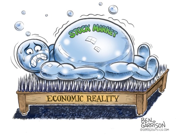 Image result for bank stocks in a bubble
