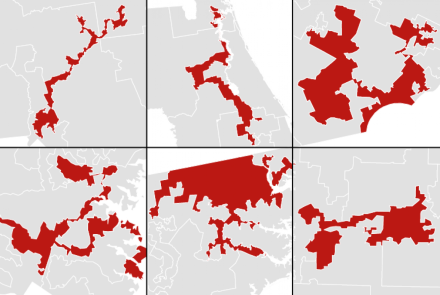 Worst GerryMandered districts